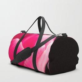 Shocking Pink Tulip Duffle Bag