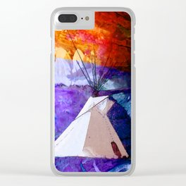 Native Suite Dreams Clear iPhone Case