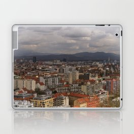 Over The Rooftops of Ljubljana Laptop & iPad Skin