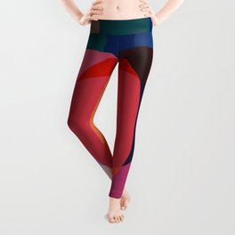Colorful Geometric BA Leggings