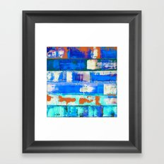 Irradiated (inverted) Framed Art Print