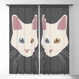 Aphrodite Giant Cat Face Blackout Curtain