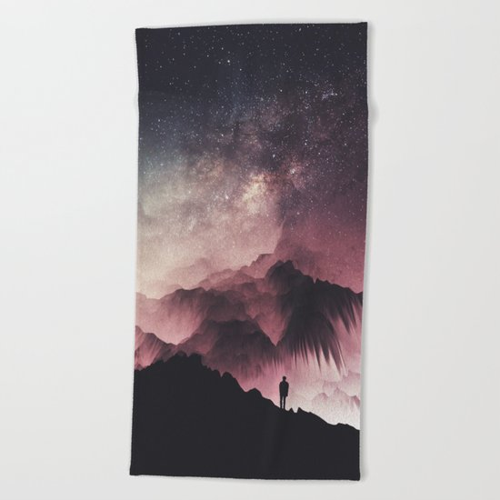 Night Beach Towel