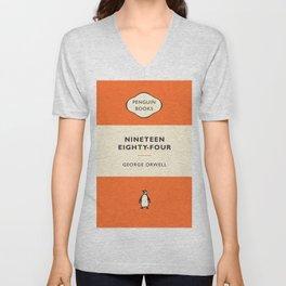 George Orwell - Nineteen Eighty-Four Unisex V-Neck