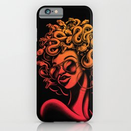 Funky Medusa II iPhone Case