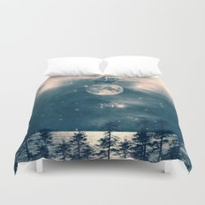 One Day I Fell from My Moon Cottage... Duvet Cover