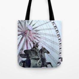 Paris Street Style No. 5 Tote Bag