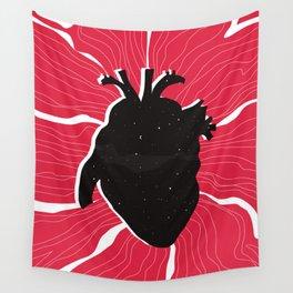 Heart full of stars Wall Tapestry