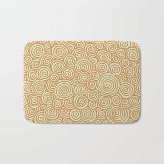 Spirals Bath Mat