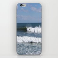 surfer iPhone & iPod Skins featuring Surfer by moonstarsunnj