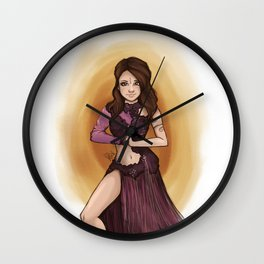 Come and Get it Wall Clock