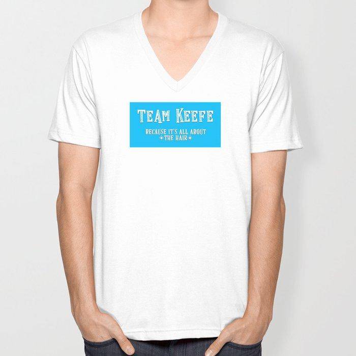 Team Keefe Unisex V-Ausschnitt