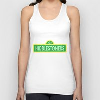 sesame street Tank Tops featuring Hiddlestoners Sesame Street by RLJ Photographic