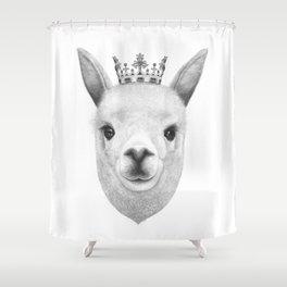 The King Lama Shower Curtain