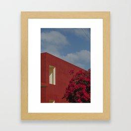 a minimal cuba Framed Art Print