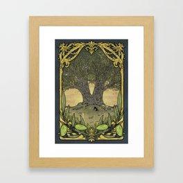 """En la Quinta, Cornezuelo"" Framed Art Print"