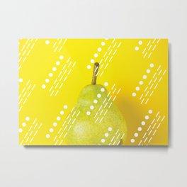 Magic pear Metal Print