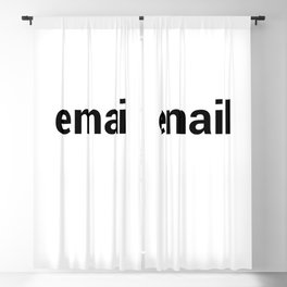email Blackout Curtain