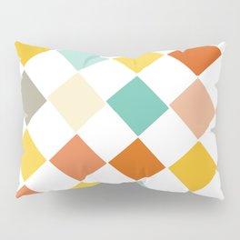 Color Check Pillow Sham