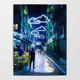 Night Clouds - Kuala Lumpur Poster