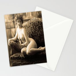 20's girl Stationery Cards