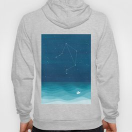 Libra zodiac constellation Hoody