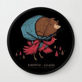 kazooie banjo Wall Clock