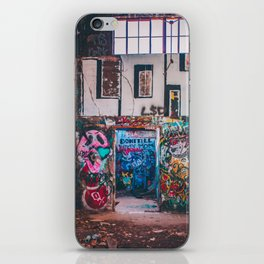 Abandoned Building Graffiti iPhone Skin