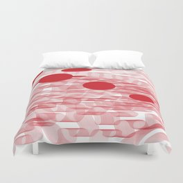 red planets Duvet Cover