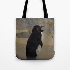 Rockhopper Penguin Tote Bag