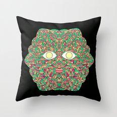 Tree Man Cosmic Serpents Codex Throw Pillow