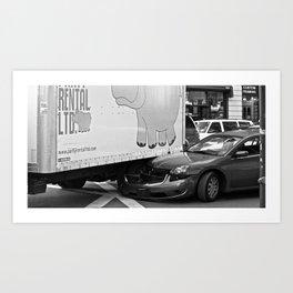 On The Road Again (Pt 2) Art Print