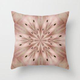 Star Magnolia Medallion Throw Pillow