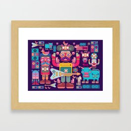 singpentinkhappy band Framed Art Print
