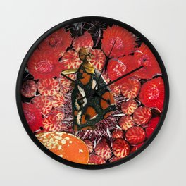 Entering the Doors of Perception Wall Clock