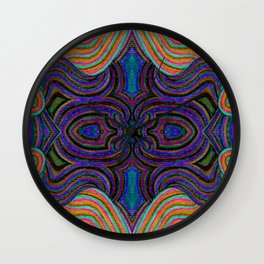 SwankyDoodleSandy Colorblind Repeat Wall Clock