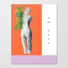 ooze. Canvas Print