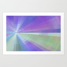 Glorious Rays Art Print