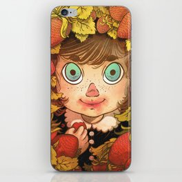Strawberries iPhone Skin