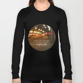 perks of being a wallflower - we were infinite Long Sleeve T-shirt