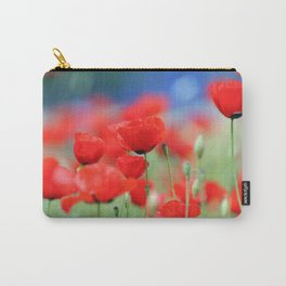 Red Poppies 2 Carry-All Pouch