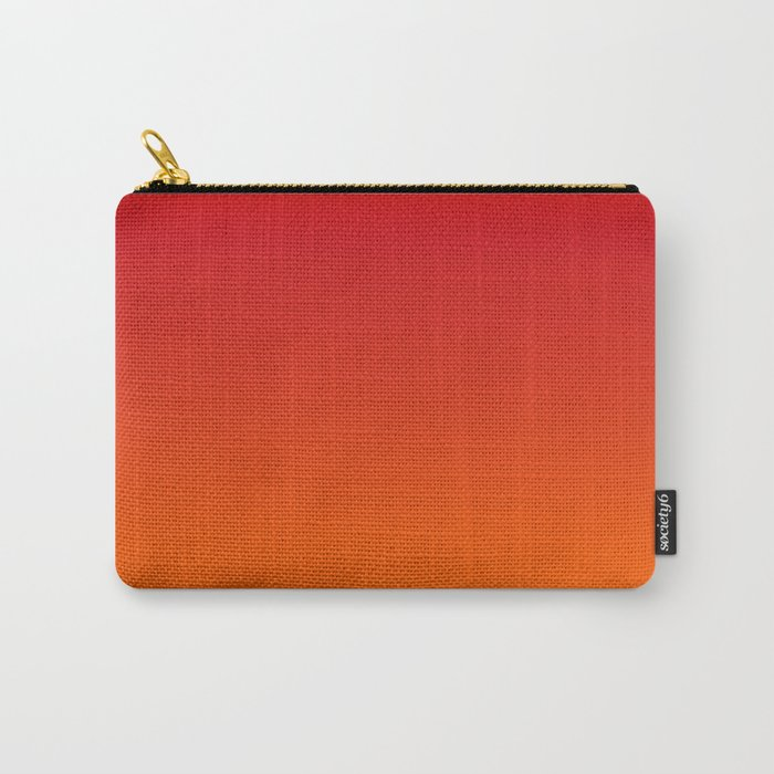 Sunset Ombre Carry-All Pouch
