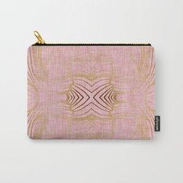 Paris Royal Gold Antique Carry-All Pouch