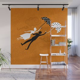 I love you let's fly Wall Mural