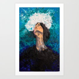 Blessed and inspired Art Print