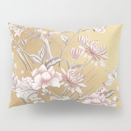 Chinoiserie Gold Pillow Sham