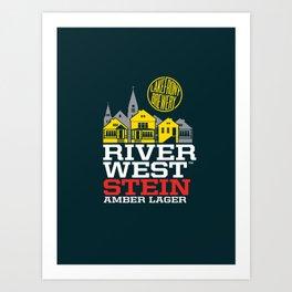 Riverwest Stein Art Print