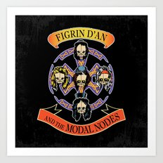 Figrin D'An and the Modal Nodes Art Print