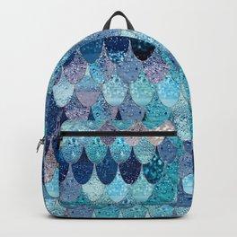 SUMMER MERMAID DARK TEAL Backpack
