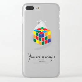 You are so Magic Clear iPhone Case